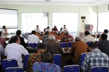 Sosialisasi Peraturan Gubernur Nomor 39 Tahun 2015 tentang Pedoman Pemberian Nama Rupabumi Unsur Buatan