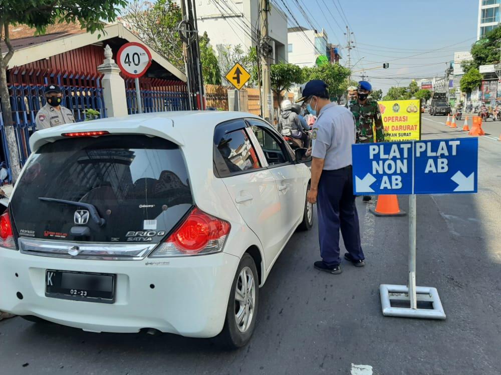 Plat Non AB Dilarang Memasuki Kota Yogyakarta