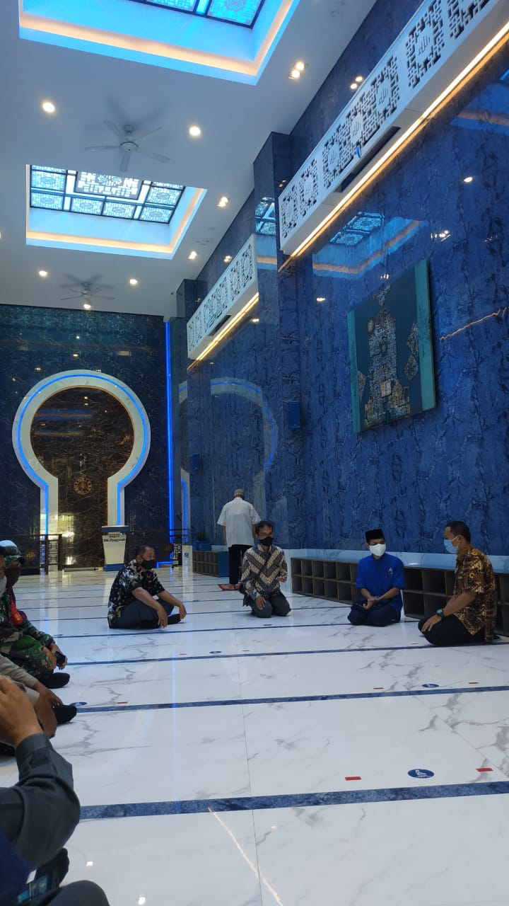Verifikasi Lapangan Tim Gugus Tugas COVID-19 Kota Yogyakarta Untuk Tempat Ibadah (Masjid)