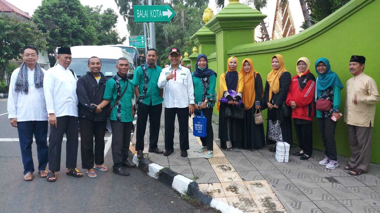 Latihan Manasik Haji Calon Jamaan Haji Kota Yogyakarta 1441 H ke Firdaus Fatimah Zahra Semarang (Februari)